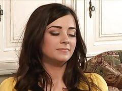 Mature Woman Seduce a Shy Brunette