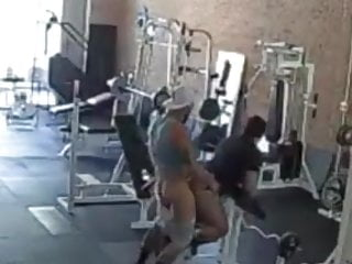 Gym fucking...