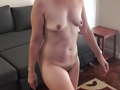 Allison livingroom nude exercise (full)