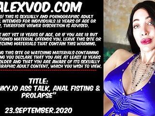 Hotkinkyjo ass talk anal prolapse 23 september...