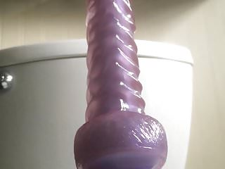 Sexy bbw redhead dildo...