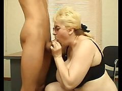 Huge Tits Russan Teacher fucking with Student-Final exem