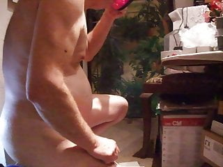 Slave joe analtraining drinking...