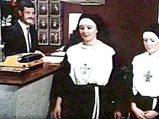 Vintage Blowjob Big Cock video: Nympho Nuns