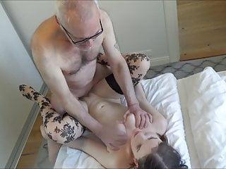 Ulf Larsen lick & fuck Angel, ex-girlfriend & bitch!