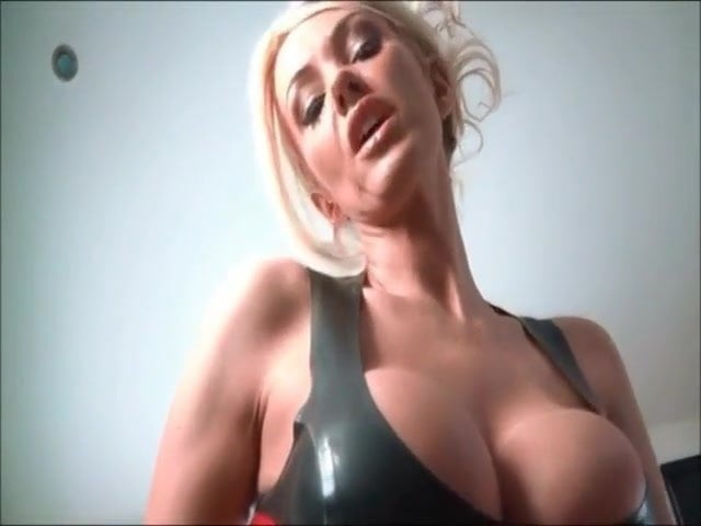 Fake Tits Solo Masturbation