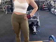 Sexy hot butt workout